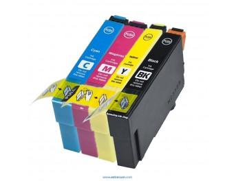Epson 18 XL pack 4 colores compatible