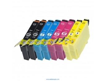 Epson 18 XL pack 8 unidades compatible