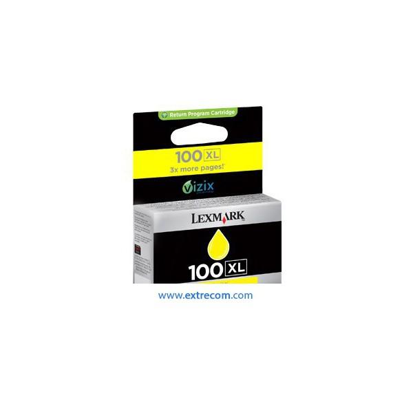 Lexmark 100 XL amarillo original
