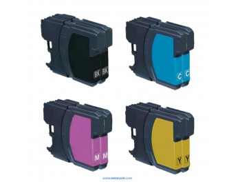 Brother LC1000 pack 8 unidades compatible