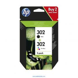 HP 302 pack 2 unidades original