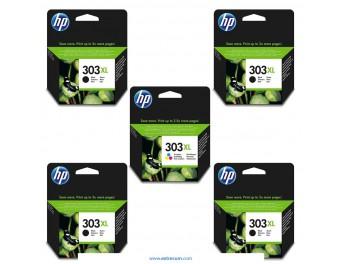 HP 303 XL pack 5 unidades original