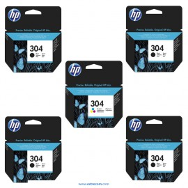 HP 304 pack 5 unidades compatible