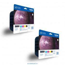 Brother LC1220VALBP 2x pack 4 colores original