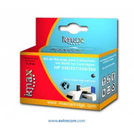 Imax kit de recarga Hp 350/336 negro