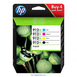 HP 912 XL pack original
