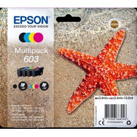 Epson  603 pack 4 unidades original
